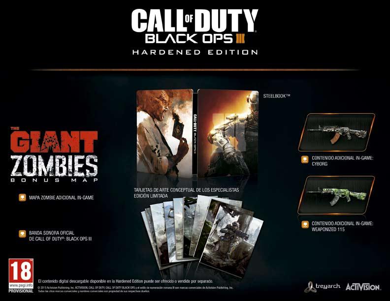 Call of Duty: Black Ops III Hardened