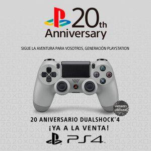 Dualshock 4 20 Aniversario