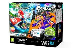 Nueva Wii U Premium Pack Mario Kart 8 + Splatoon