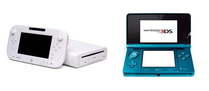 WiiU y 3DS