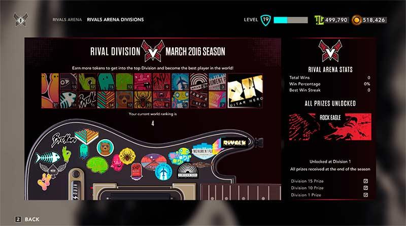 Guitar Hero Live Rivals Arena