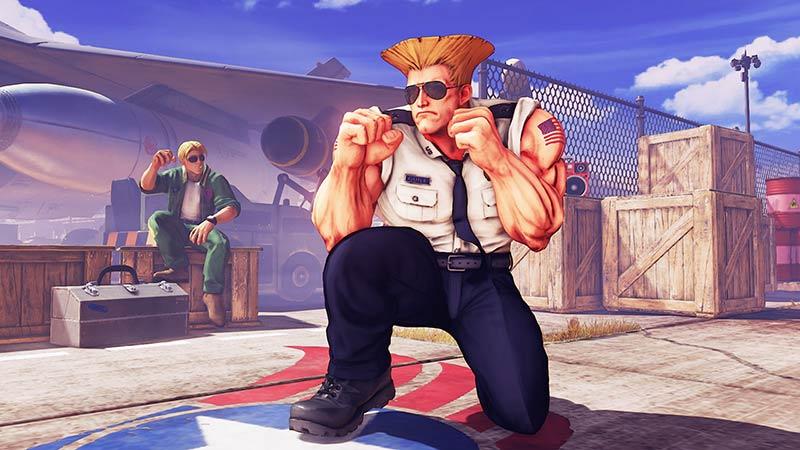 Guile en acción en el nuevo tráiler de Street Fighter V