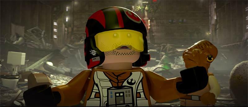 LEGO Star Wars: El Despertar de la Fuerza - Poe Dameron