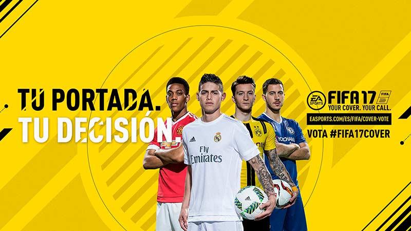 La portada de FIFA 17 está en manos de los fans
