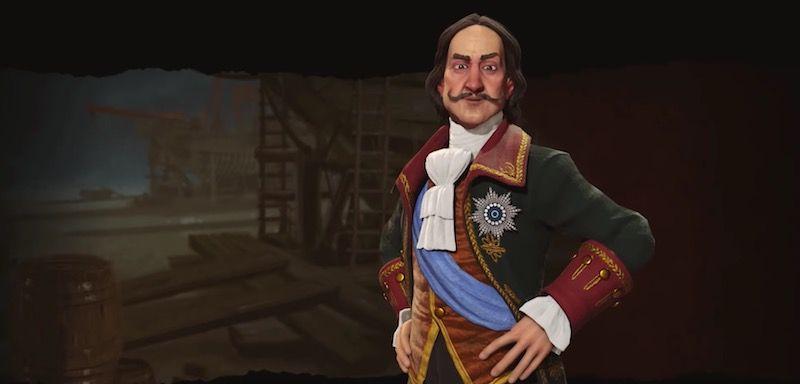 Pedro el Grande liderará Rusia en Sid Meier's Civilization VI