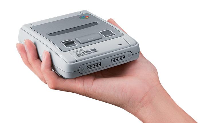 Tamaño de la SNES Classic Mini