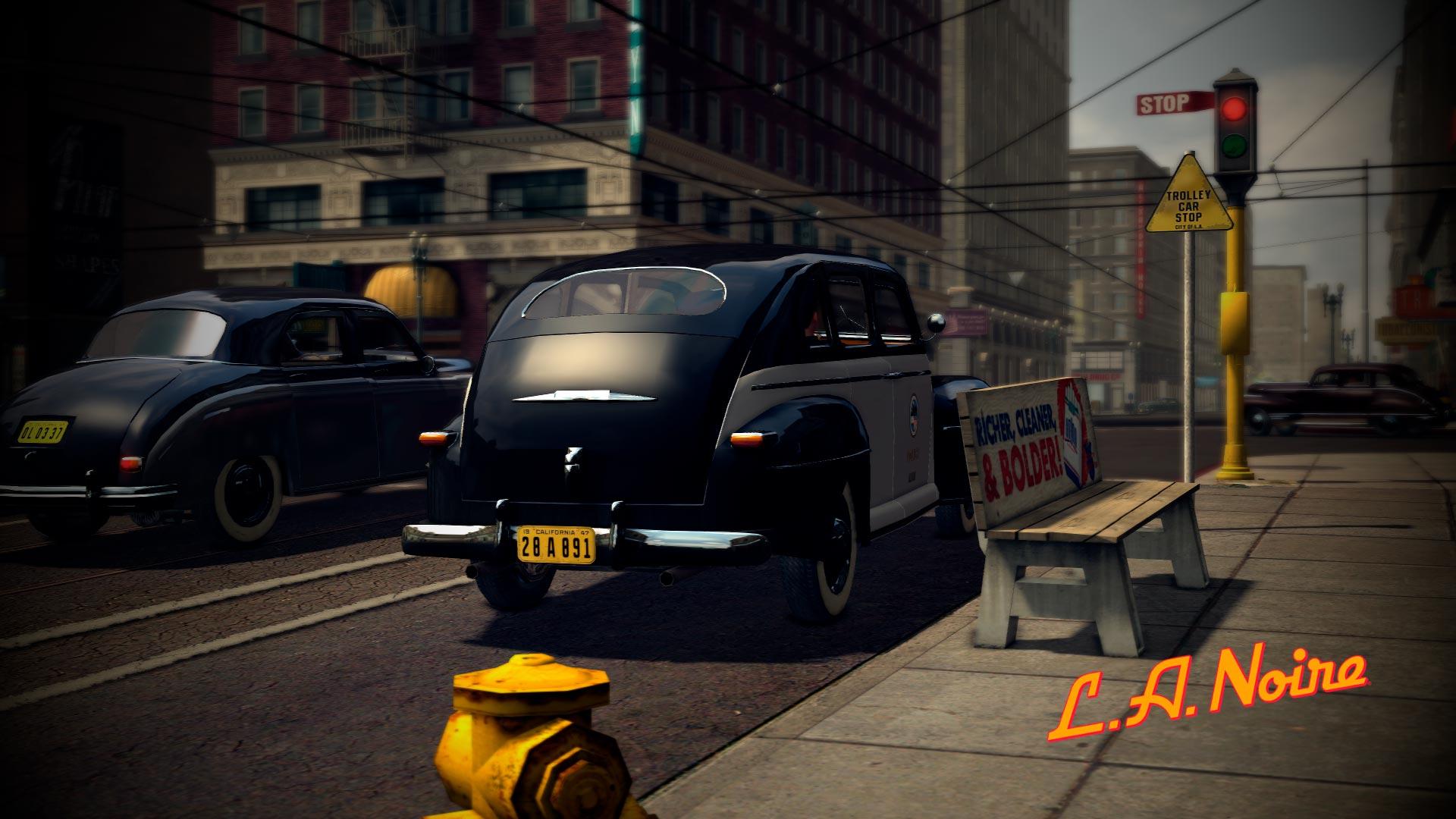 El coche patrulla en Modo Foto