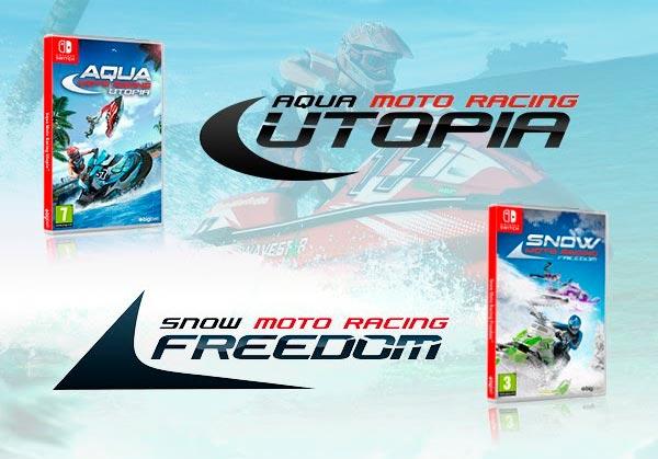 Aqua Moto Racing Utopia y Snow Moto Racing Freedom para Nintendo Switch