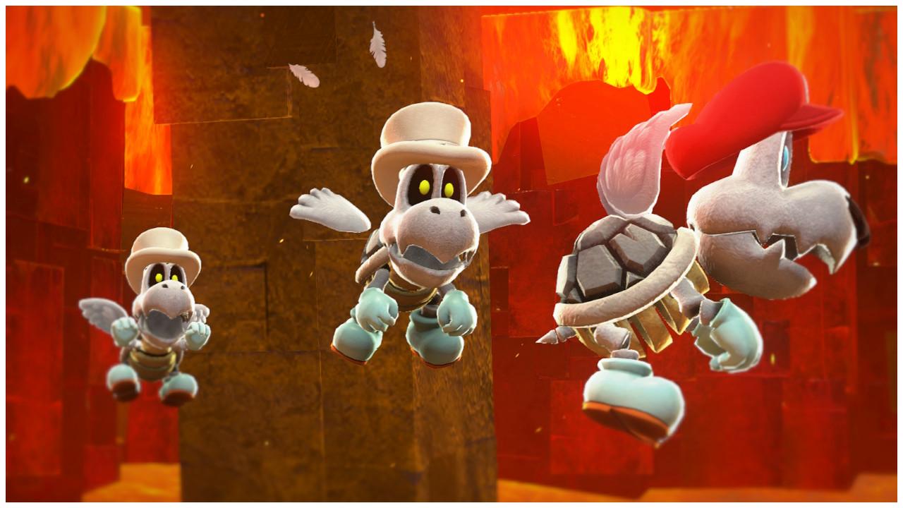 Captura hecha en el modo Foto del juego y aplicando desenfoque
