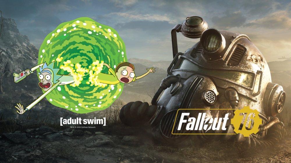 ¡Rick y Morty en Fallout 76!